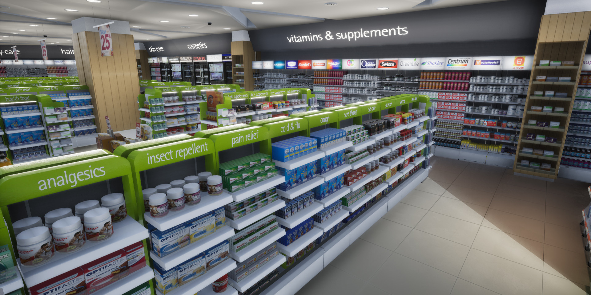 VR Watsons pharmacy virtual store