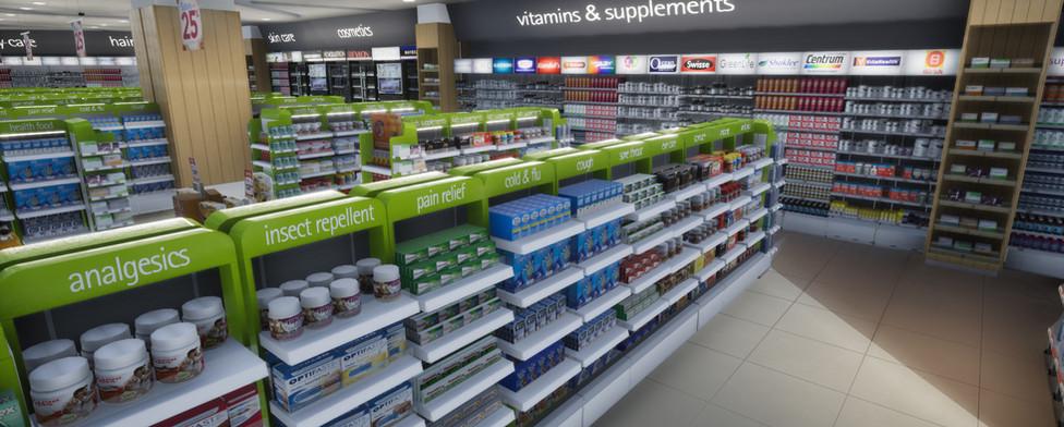 VR Watsons pharmacy virtual store