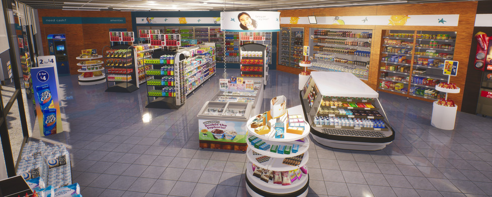 Virtual petrol site Caltex