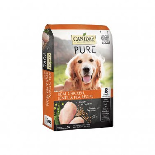 CANIDAE® PURE™ Grain Free Real Chicken, Lentil & Pea Recipe Dog Dry