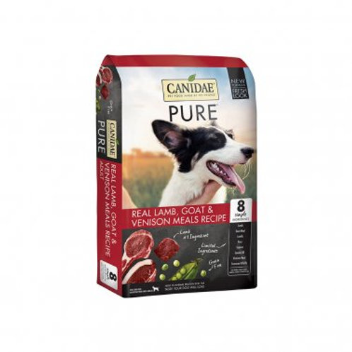 Canidae® PURE™ Grain Free Real Lamb, Goat & Venison Meals Recipe Dog Dry