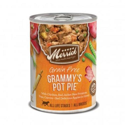 Grain Free Wet Dog Food Grammy's Pot Pie
