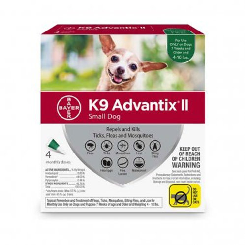 K9 Advantix® II K9 Advantix® II Fleas & Tick Treatment for Small Dog
