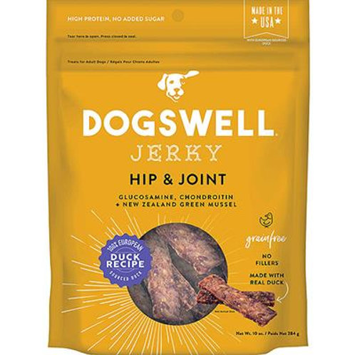 DOGSWELL DOG HIP & JOINT JERKY GRAIN FREE DUCK 20OZ