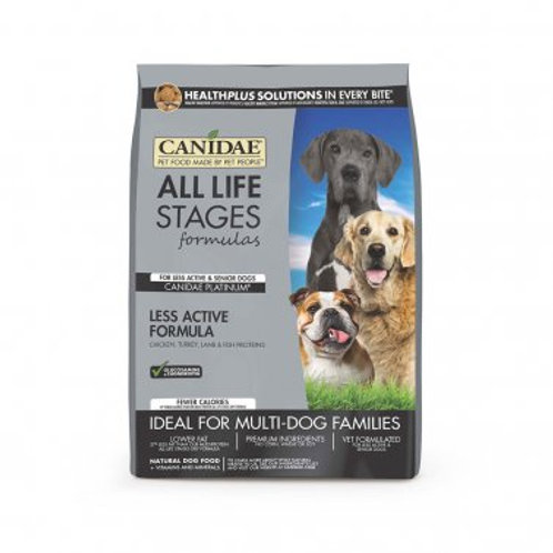 Canidae® All Life Stages Platinum Less Active Multi-Protein Formula Dog Food