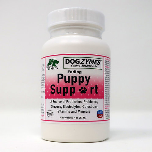 Dogzymes Fading Puppy Support_Probiotics Prebiotics Enzymes
