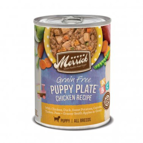 Grain Free Wet Puppy Food Puppy Plate Chicken Recipe