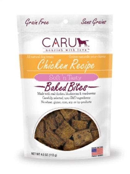 Caru Dog Natural Chicken Recipe Bites 4oz