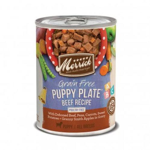 Grain Free Wet Puppy Food Puppy Plate Beef Recipe