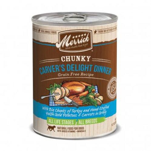 Chunky Grain Free Wet Dog Food Carvers Delight Dinner