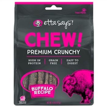 Etta Says! Dog Chew Crunchy Buffalo 4.5 oz.