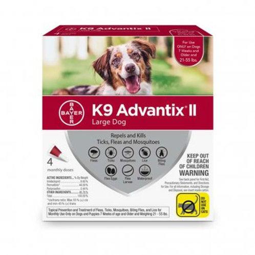 K9 Advantix® II K9 Advantix® II Fleas & Tick Treatment for Large Dog