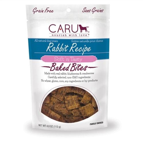 Caru Dog Natural Rabbit Treats Bites 4oz