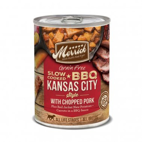 Grain Free Slow-Cooked BBQ Kansas City Style with Chopped Pork