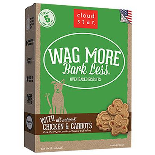 CLOUDSTAR WAGMORE DOG BAKED CHICKEN & CARROT 3LB