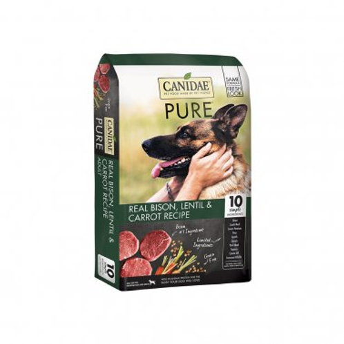 Canidae® PURE™ Grain Free Real Bison, Lentil & Carrot Recipe Dog Dry