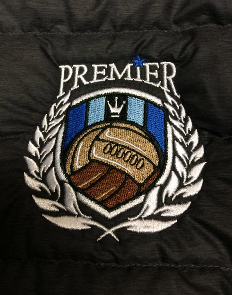 Embroidered Logos and Crests