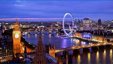 Panoramic view of London_