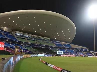 Sheikh Zayed Stadium.