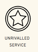 Unrivalled service