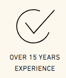over 15 years experience