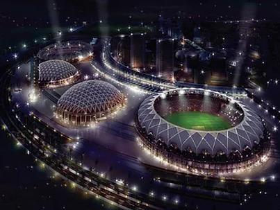 Dubai sports ground