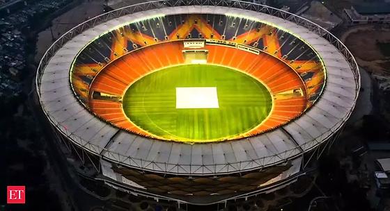 Motera cricket stadium.