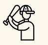 Cricketer icon