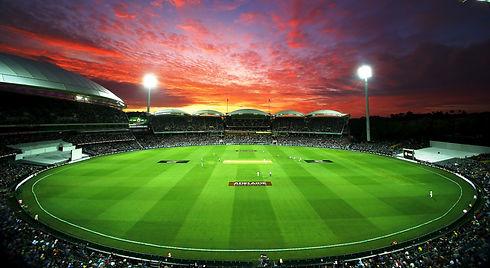 Cricket stadium.