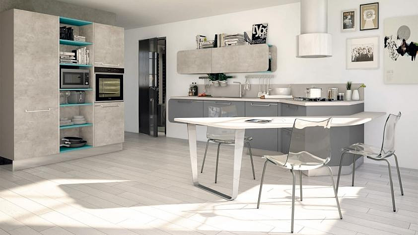 Awesome Cucine Moderne Bianche Laccate Ideas - Home Ideas - tyger.us