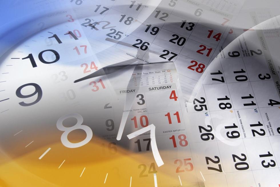 календарь и часы фото солнечный одуванчик