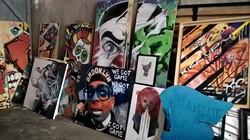 """Exposition """"De la street à la toile"""""""