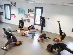 Stage Breakdance avec BGirl Karima
