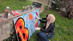 Projet graffiti,  CS Roseraie