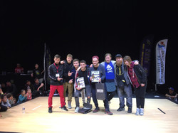 Finalistes beatbox One-One Battle