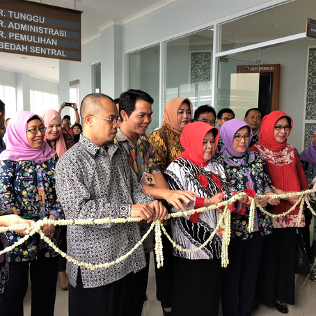 Inauguration of RSUD Ciawi Cathlab Services with Regent of Bogor Nurhayanti