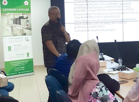 Health Seminar and Free ECG Checkup at Angkasa Pura II Palembang