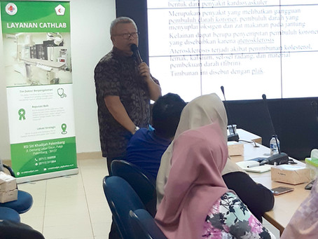 Seminar Kesehatan dan Pemeriksaan EKG Gratis PT. Angkasa Pura II Palembang