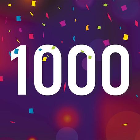 Pasien ke 1000