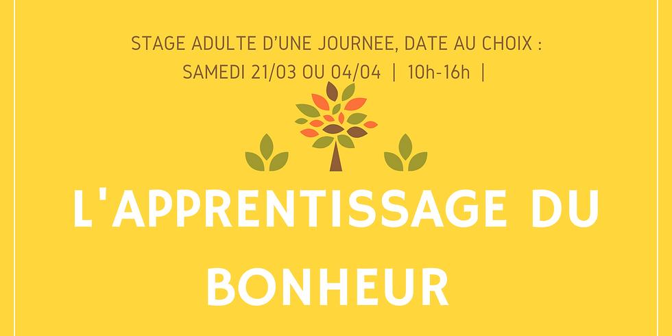 Stage Apprentissage du Bonheur