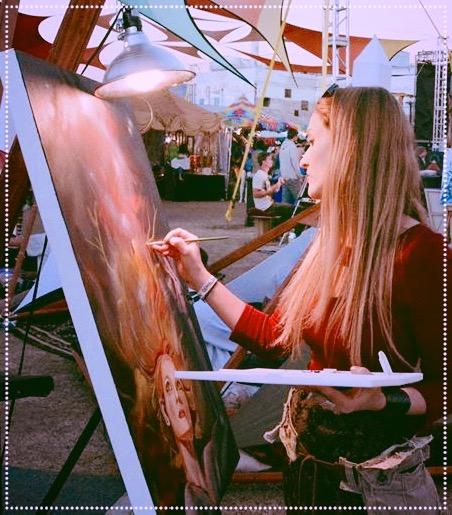 Live Painting- Tucson, AZ