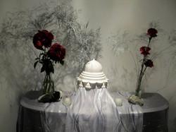 Winter Solstice Altar Installation