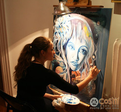 Live Painting~ CoSM New York