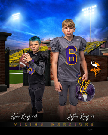justin Rains and ayden  home_turf_footba