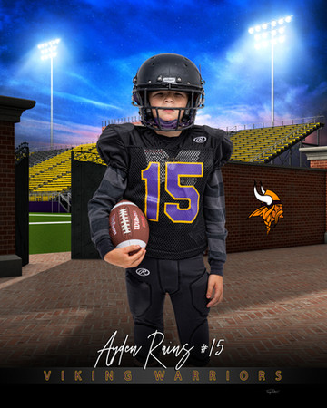 Ayden Rains home_turf_football_48x72_ban