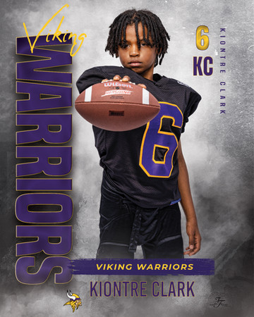 KIONTRE CLARK  Football_game_flyer_09MET