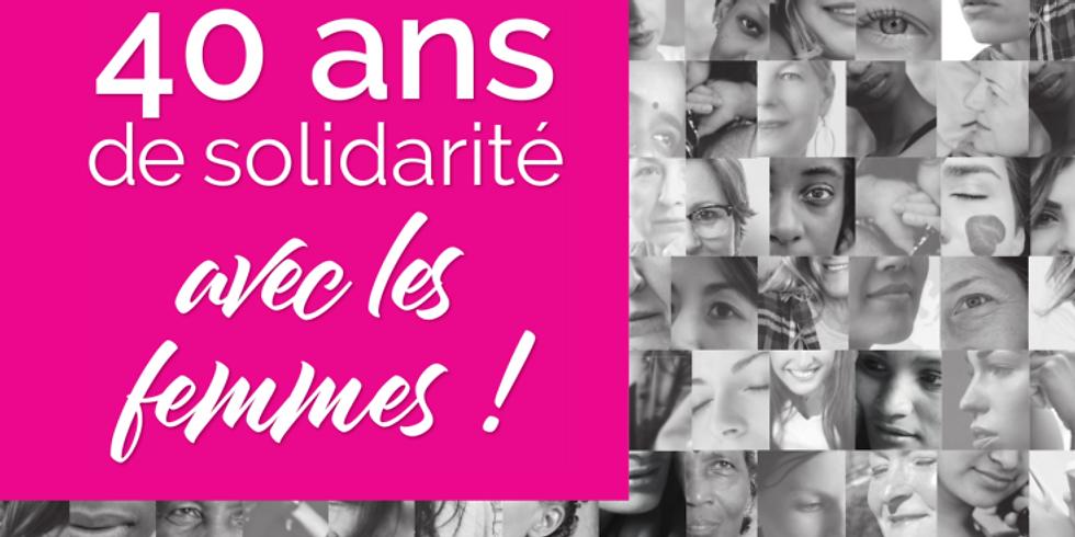 40 ans de solidarité avec les femmes !