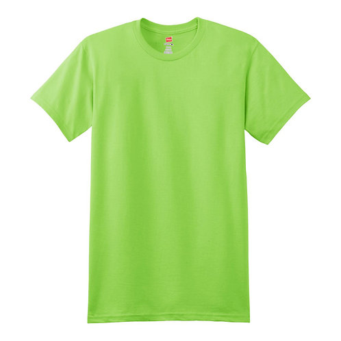 Hanes Cotton an Polyester Blended Crew-Neck Shirt