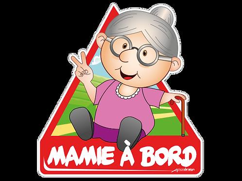 Mamie à bord