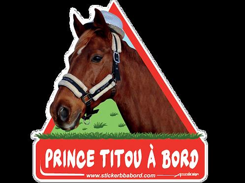 Prince TITOU a bord